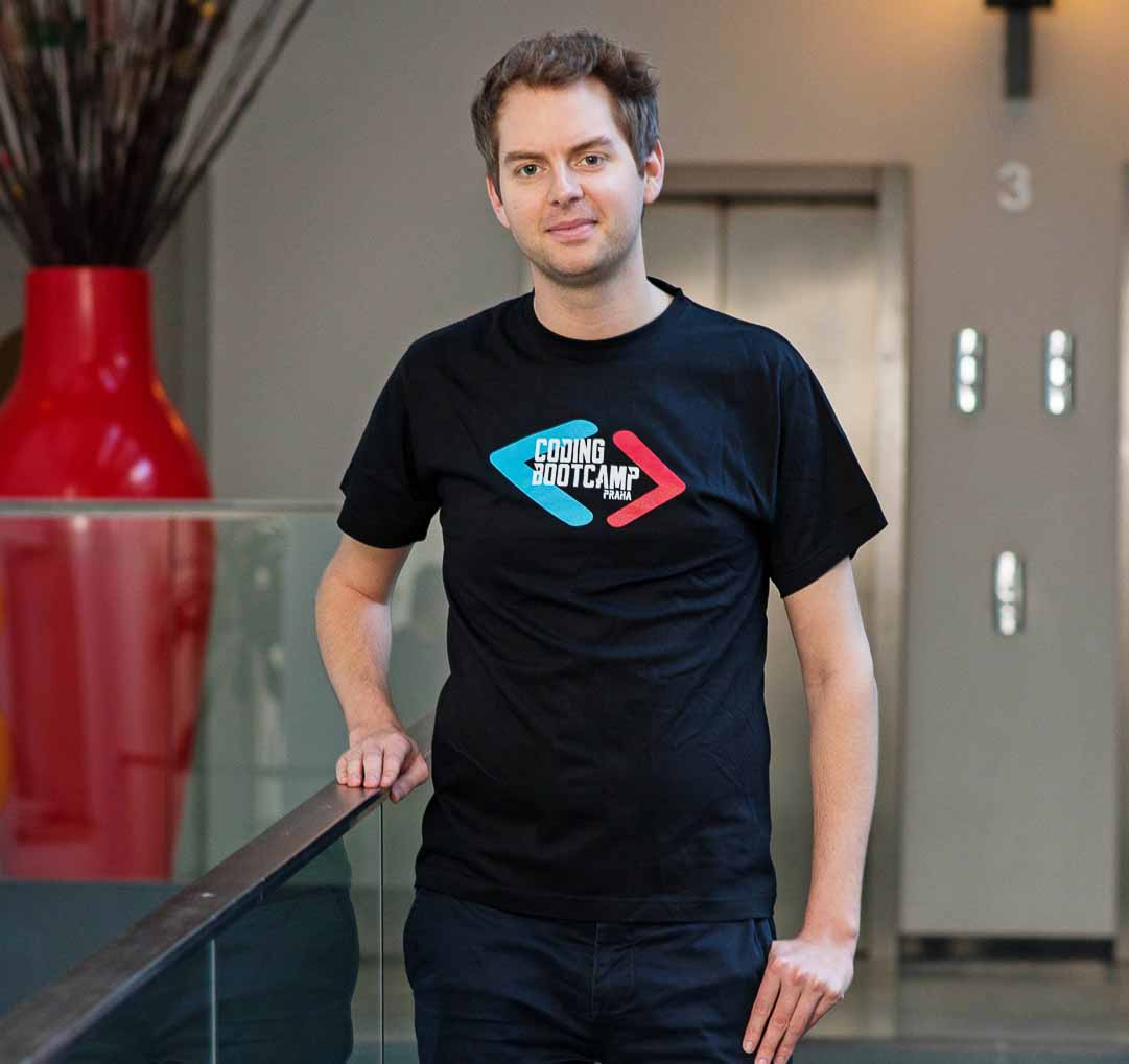 Coding Bootcamp Praha Students Rutger Beerens