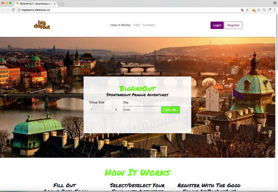 Coding Bootcamp Praha Projects BigDayOut